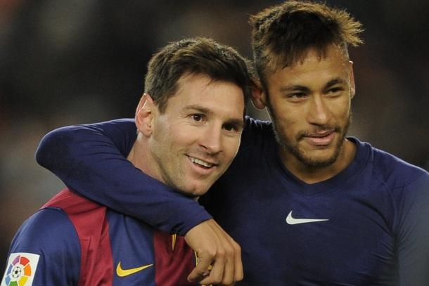 24 de Junho - Lionel Messi e Neymar.