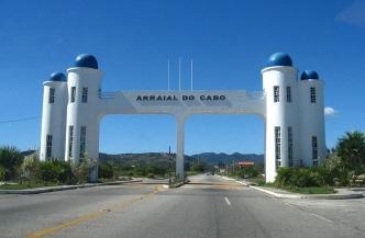 13 de Maio - Arraial do Cabo (RJ) - Pórtico da cidade.