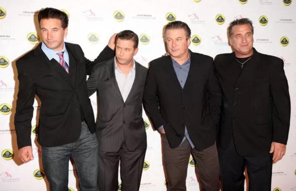 21 de Fevereiro - William Baldwin, Stephen Baldwin, Alec Baldwin e Daniel Baldwin.