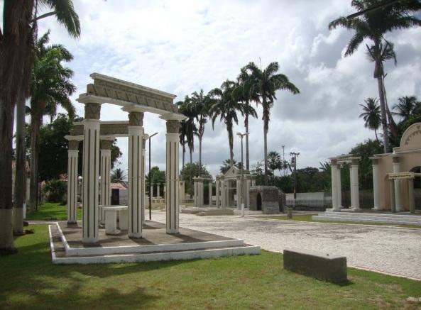 8 de Outubro - Praça da Paixão, onde é encenada a Paixão de Cristo — Pacatuba (CE) — 148 Anos em 2017.
