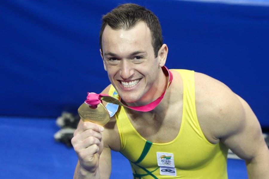 19 de junho - Diego Hypólito, ginasta brasileiro.