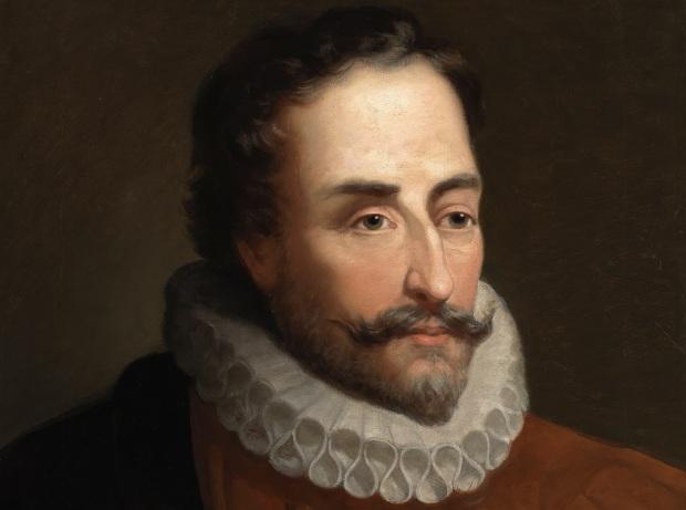 22 de Abril - 1616 — Miguel de Cervantes, escritor, dramaturgo e poeta espanhol (n. 1547).
