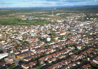 27 de Maio - Foto aérea da cidade de Tabira (PE) 68 Anos.