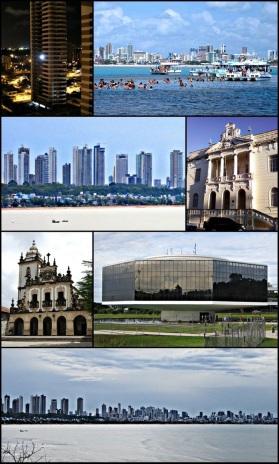 5 de Agosto – Fotomontagem com pontos turísticos da cidade — João Pessoa (PB) — 432 Anos em 2017.