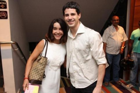 20 de Maio - Lucélia Santos com o filho, Pedro Neschling.