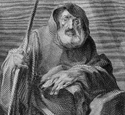 2 de Abril - 1507 — Francisco de Paula, eremita e santo italiano (n. 1416).