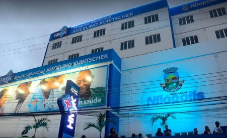 21 de Agosto — Hospital Municipal Juscelino Kubitschek — Nilópolis (RJ) — 70 Anos em 2017.