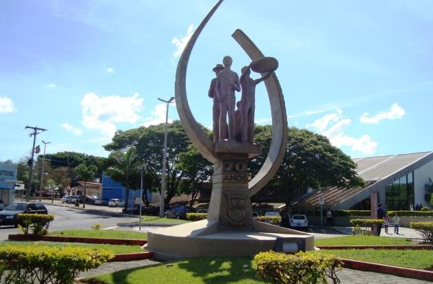 5 de Maio - Garça (SP) - Marco Zero - Monumento aos trabalhadores do café.