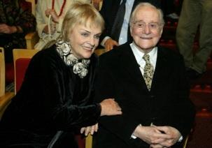 7 de Setembro – Paulo Autran - 1922 – 95 Anos em 2017 - Acontecimentos do Dia - Foto 18 - Karin Rodrigues e Paulo Autran.