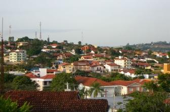 25 de Julho - Vista parcial da cidade — Águas de São Pedro (SP) — 77 Anos em 2017.