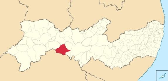 7 de Maio - Belém do São Francisco (PE) — Localização de Belém do São Francisco em Pernambuco.