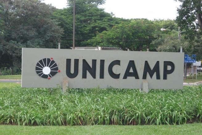 14 de Julho - Entrada do campus da UNICAMP - Universidade Estadual de Campinas, no distrito de Barão Geraldo — Campinas (SP) — 243 Anos em 2017.