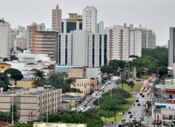 26 de Agosto — Panorâmica da cidade — Campo Grande (MS) — 118 Anos em 2017.