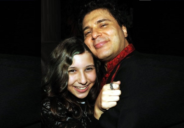 21 de Maio - Frejat com sua filha Júlia.