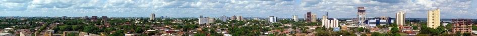 2 de Outubro - Vista Panorâmica de Porto Velho a partir do bairro Pedrinhas, em maio de 2010 — Porto Velho (RO) — 103 Anos em 2017.