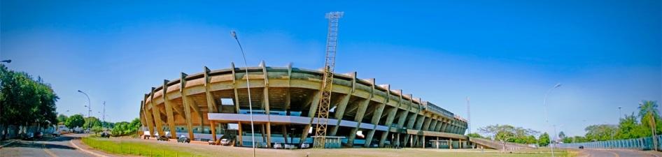 26 de Agosto — Panorama dos arredores do Estádio Universitário Pedro Pedrossian (Morenão) — Campo Grande (MS) — 118 Anos em 2017.