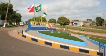 13 de Setembro – Boas vindas na entrada da cidade — Uruará (PA) — 30 Anos em 2017.