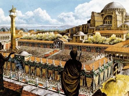 29 de Maio - 1453 — Queda de Constantinopla; o sultão otomano Mehmed II conquista Constantinopla depois de um cerco de seis semanas, pondo fim ao Império Bizantino.