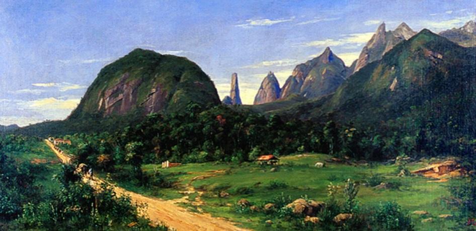 6 de Julho – Vista da freguesia de Teresópolis, em meados de 1885 — Teresópolis (RJ) — 126 Anos em 2017.