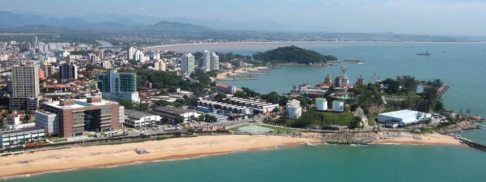 29 de Julho - Imagem aérea da cidade — Macaé (RJ) — 204 Anos em 2017.
