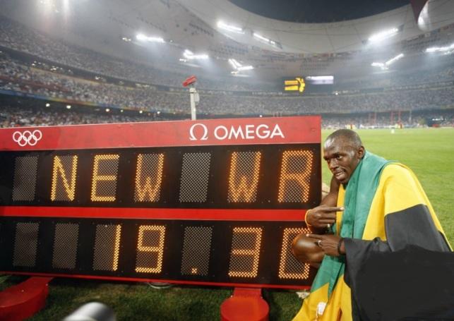 21 de Agosto — CAPA • Usain Bolt - 1986 – 31 Anos em 2017 - Acontecimentos do Dia - Foto 5 - 200m - 19,30.