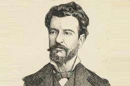 10 de Março - Bernardo Guimarães, escritor brasileiro