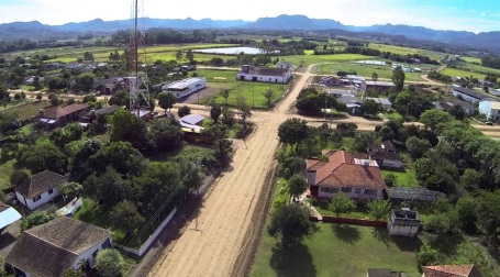 12 de Maio - Bairro da cidade Paraíso do Sul no Rio Grande do Sul.