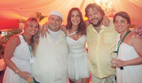 27 de Maio - Ivete Sangalo com a família.