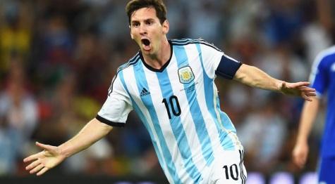 24 de Junho - Lionel Messi na seleção argentina.