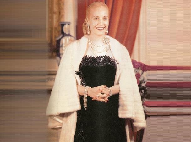 7 de Maio - 1919 – Eva Perón, conhecida como Evita, atriz e líder política argentina.