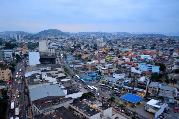 22 de Setembro – Foto aérea da cidade — São Gonçalo (RJ) — 127 Anos em 2017.