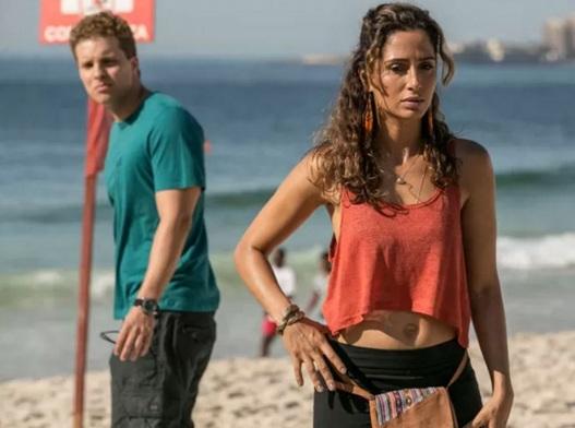 14 de Junho - Camila Pitanga em cena da novela 'Babilônia'.