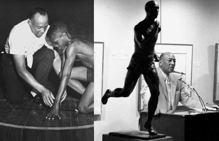12 de Setembro – Jesse Owens - 1913 – 104 Anos em 2017 - Acontecimentos do Dia - Foto 20 - Jesse Owens ensinando as novas gerações e palestrando.