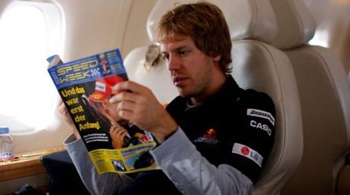 3 de Julho – Sebastian Vettel, piloto, alemão, de Fórmula 1.