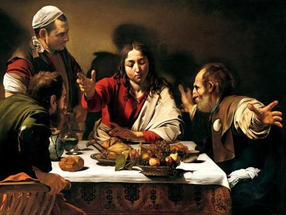 29 de Setembro – A Ceia em Emaús é uma das principais pinturas a óleo do artista barroco italiano Caravaggio.