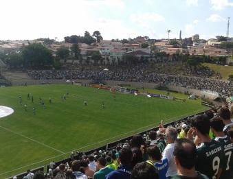 15 de Agosto – Partida entre Atlético Sorocaba e Palmeiras, em 2014, disputada no Estádio Walter Ribeiro — Sorocaba (SP) — 363 Anos em 2017.