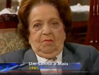 31 de Julho - Henriqueta Brieba - 1901 – 116 Anos em 2017 - Acontecimentos do Dia - Foto 16 - Um sonho a mais, 1985.