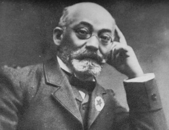 14 de Abril - 1917 — Ludwik Lejzer Zamenhof, oftalmologista e filólogo polonês (n. 1859).