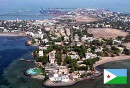 Cidade de Djibouti, capital da Djibouti.