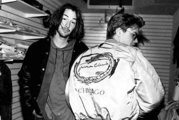 2 de Setembro – Keanu Reeves - 1964 – 53 Anos em 2017 - Acontecimentos do Dia - Foto 27 - River Phoenix e Keanu Reeves.