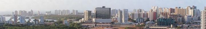 8 de Setembro – Panorama do bairro Renascença, com a Lagoa da Jansen no lado esquerdo — São Luís (MA) — 405 Anos em 2017.