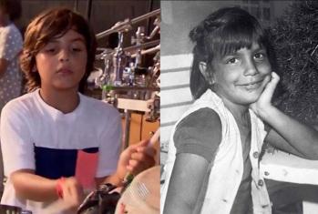 27 de Maio - Ivete Sangalo, com a idade de Marcelo, seu filho - foto-montagem.