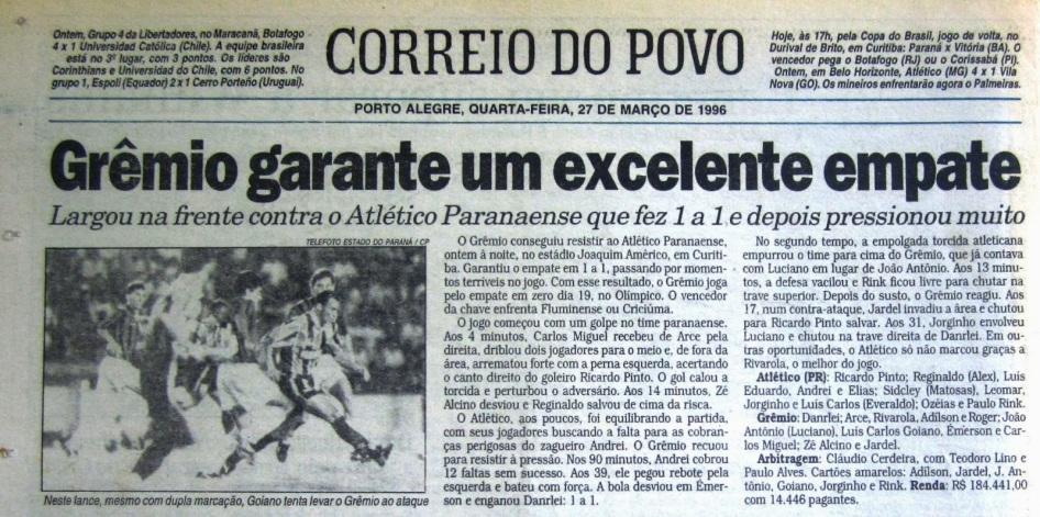 1 de Outubro - 1895 — É fundado o jornal gaúcho Correio do Povo.