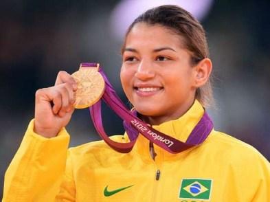 26 de Março - 1990 — Sarah Menezes, judoca brasileira.