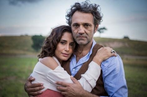 14 de Junho - Camila Pitanga e o ator Domingos Montagner.