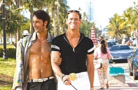 22 de Agosto — Rodrigo Santoro - 1975 – 42 Anos em 2017 - Acontecimentos do Dia - Foto 20 - Rodrigo Santoro e Jim Carrey em cena do filme 'O Golpista do Ano'.