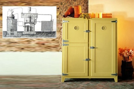 11 de Maio - 1862 – Ferdinand Carré inventa a primeira geladeira.