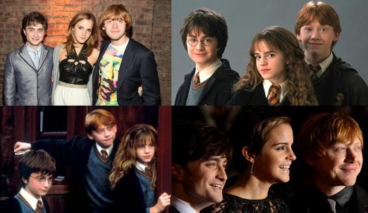 23 de Julho - Daniel Radcliffe - 1989 – 28 Anos em 2017 - Acontecimentos do Dia - Foto 17 - Com Emma Watson e Rupert Grint, em Harry Potter.