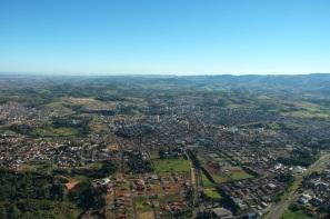 24 de Junho - Vista aérea da cidade — São João da Boa Vista (SP) — 196 Anos.