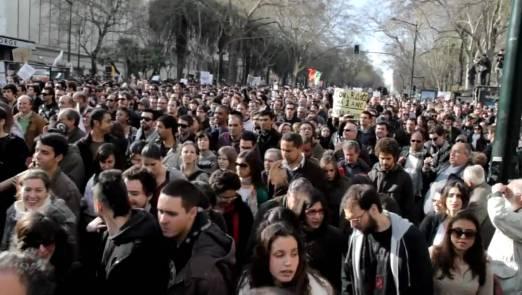 12 de Março - 2011 - Protesto da 'Geração à Rasca'.